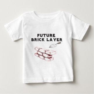 Future Brick Layer - Kids Of The Stone Mason Baby T-Shirt