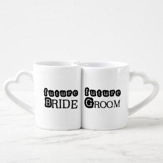 Future Bride and Groom Lovers Mugs Lovers Mug
