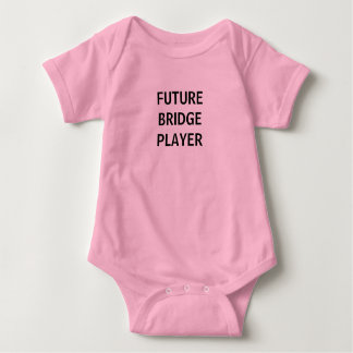 FUTURE BRIDGE PLAYER BABY JUMP SUIT BABY BODYSUIT