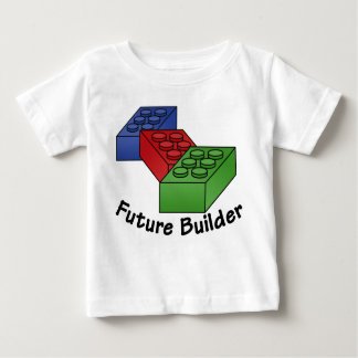 Future Builder - Building Blocks Baby T-Shirt