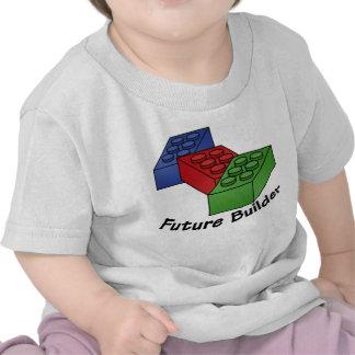 Future Builder - Building Blocks T-shirts