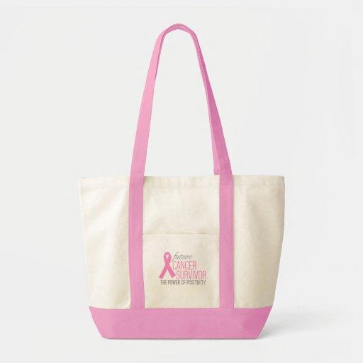 Future Cancer Survivor Two-Color Impulse Tote Canvas Bags
