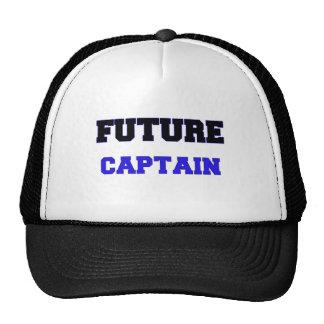 Future Captain Trucker Hats