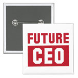 Future CEO Chief Executive Officer Businessman Button