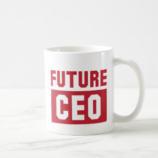 Future CEO Chief Executive Officer Businessman Coffee Mug