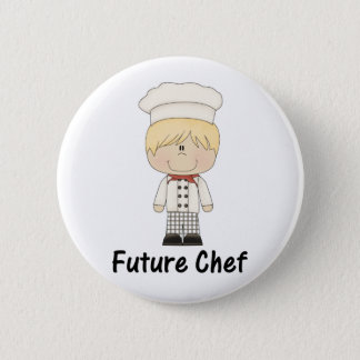 future chef (boy) 6 cm round badge