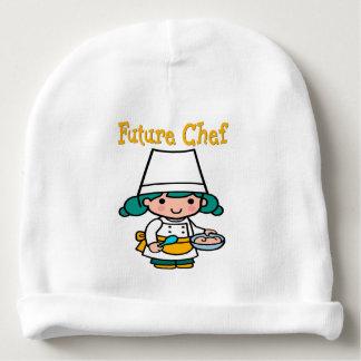 Future Chef Dark Skin When I Grow Up Baby Beanie