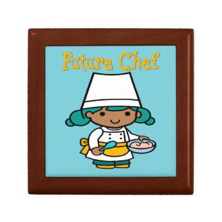 Future Chef Dark Skin When I Grow Up Gift Box