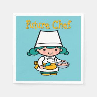 Future Chef When I Grow Up Paper Napkin