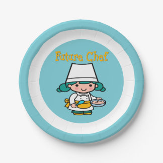 Future Chef When I Grow Up Paper Plate