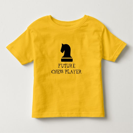 Future Chess Player funny baby shirt for newborn