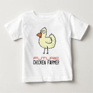 Future Chicken Farmer Baby T-Shirt