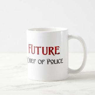 Future Chief Of Police Basic White Mug