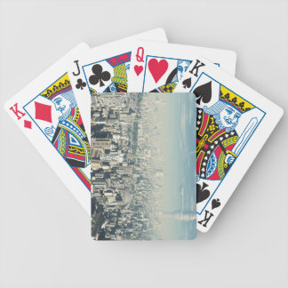 Future City Bicycle Playing Cards