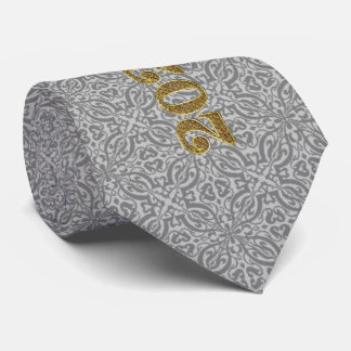 Future Class of 2020 Graduate in Gold and Silver Tie