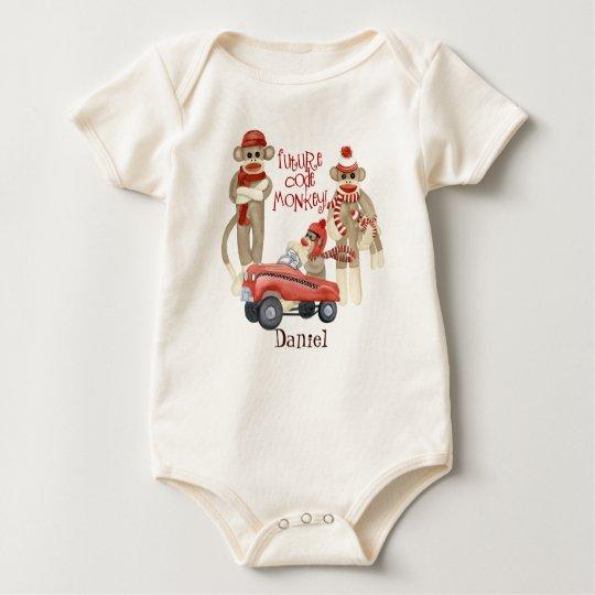 Future Code Monkey, Personalised Baby Creeper