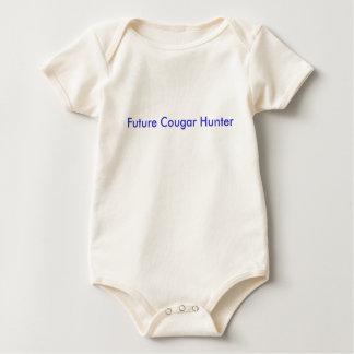 Future Cougar Hunter Baby Bodysuit