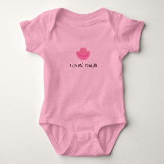 Future cowgirl baby bodysuit
