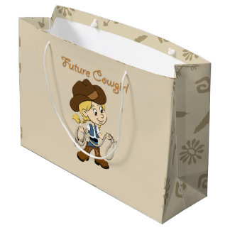 Future Cowgirl When I Grow Up Large Gift Bag