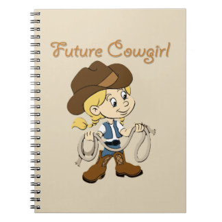 Future Cowgirl When I Grow Up Notebooks