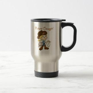 Future Cowgirl When I Grow Up Travel Mug