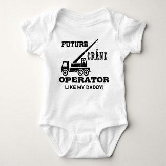 Future Crane Operator Tshirts