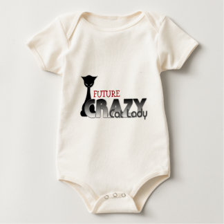 Future Crazy Cat Lady! Baby Bodysuit