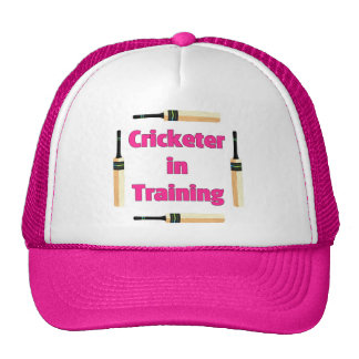 Future Cricketer or Cricketer in Training Hat