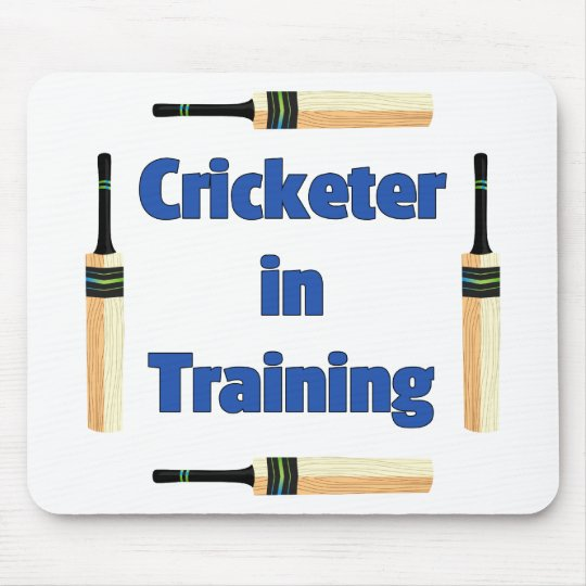 Future Cricketer or Cricketer in Training Mouse Mat