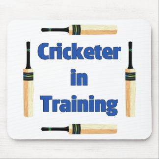 Future Cricketer or Cricketer in Training Mouse Pad