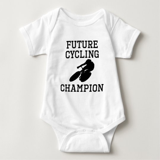 Future Cycling Champion Baby Bodysuit