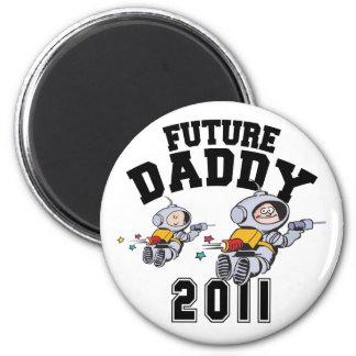 Future Daddy 2011 Fridge Magnets