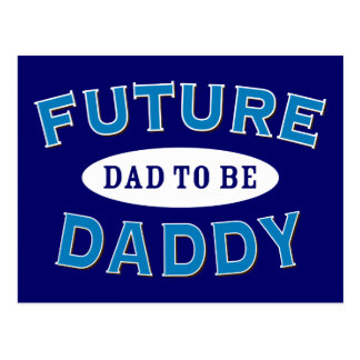 Future Daddy - Dad to Be Postcard