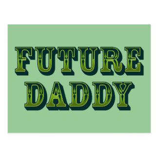 Future Daddy Postcard