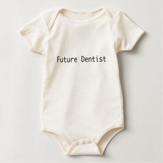 Future_Dentist Organic Baby Bodysuit