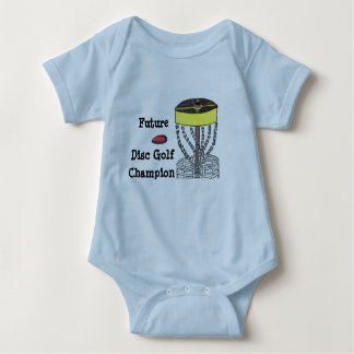 Future Disc Golf Champion baby onsie bodysuit
