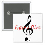 Future Diva Pins
