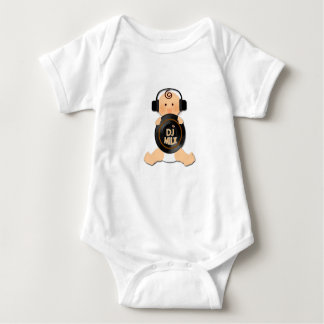 Future DJ Baby with Headphones Baby Bodysuit