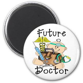 Future Doctor 6 Cm Round Magnet