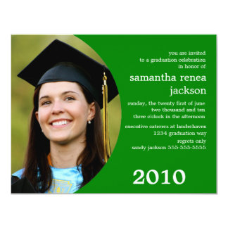 Future Dreamer Graduation Invitation (Green)