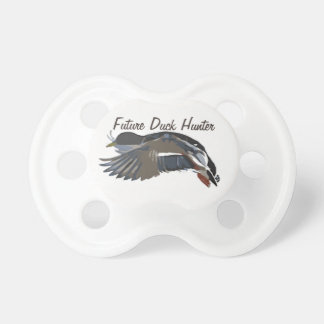 Future Duck Hunter Mallard Soother Pacifier