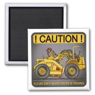 Future Earthmover Scraper Driver Magnet