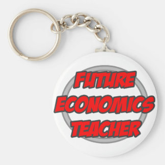 Future Economics Teacher Key Chains