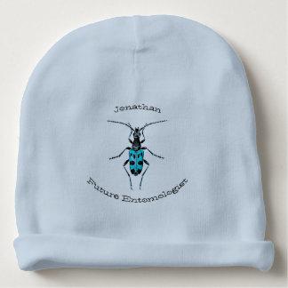 Future Entomologist Blue Beetles Boy Baby Name Baby Beanie
