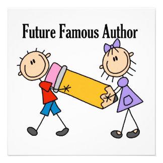 Future Famous Author Invitation