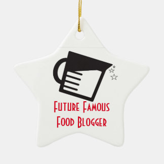 Future Famous Food Blogger Christmas Ornament
