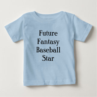 Future Fantasy Baseball Star Baby T-Shirt