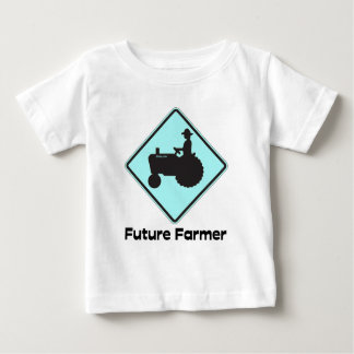 Future Farmer Baby Blue Baby T-Shirt