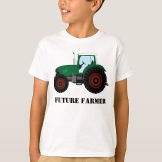 Future Farmer Green Tractor T-Shirt