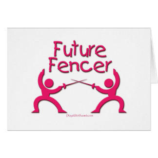 Future Fencer (Pink) Card